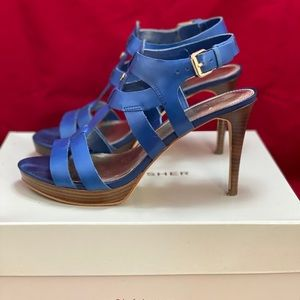 Marc Fisher Shoes - Marc Fisher Blue Heels